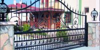 Villa Raylı Kapıları (1)