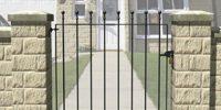 bahçe giriş kapısı (3)